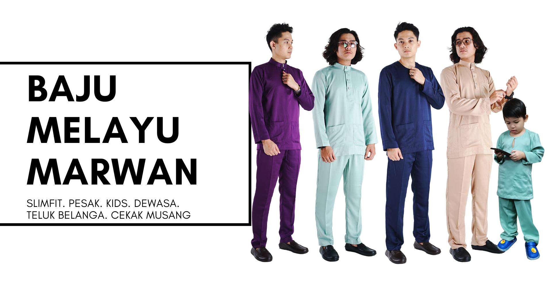 Baju Melayu  Marwan