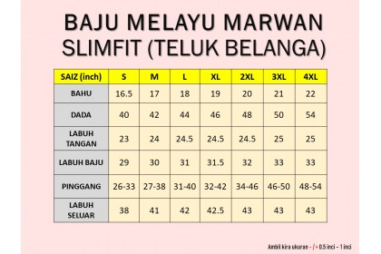 Baju Melayu Slim Fit Teluk Belanga Dewasa Warna Black